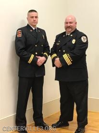 Captain Curry Jones with District Chief Kevin Jones